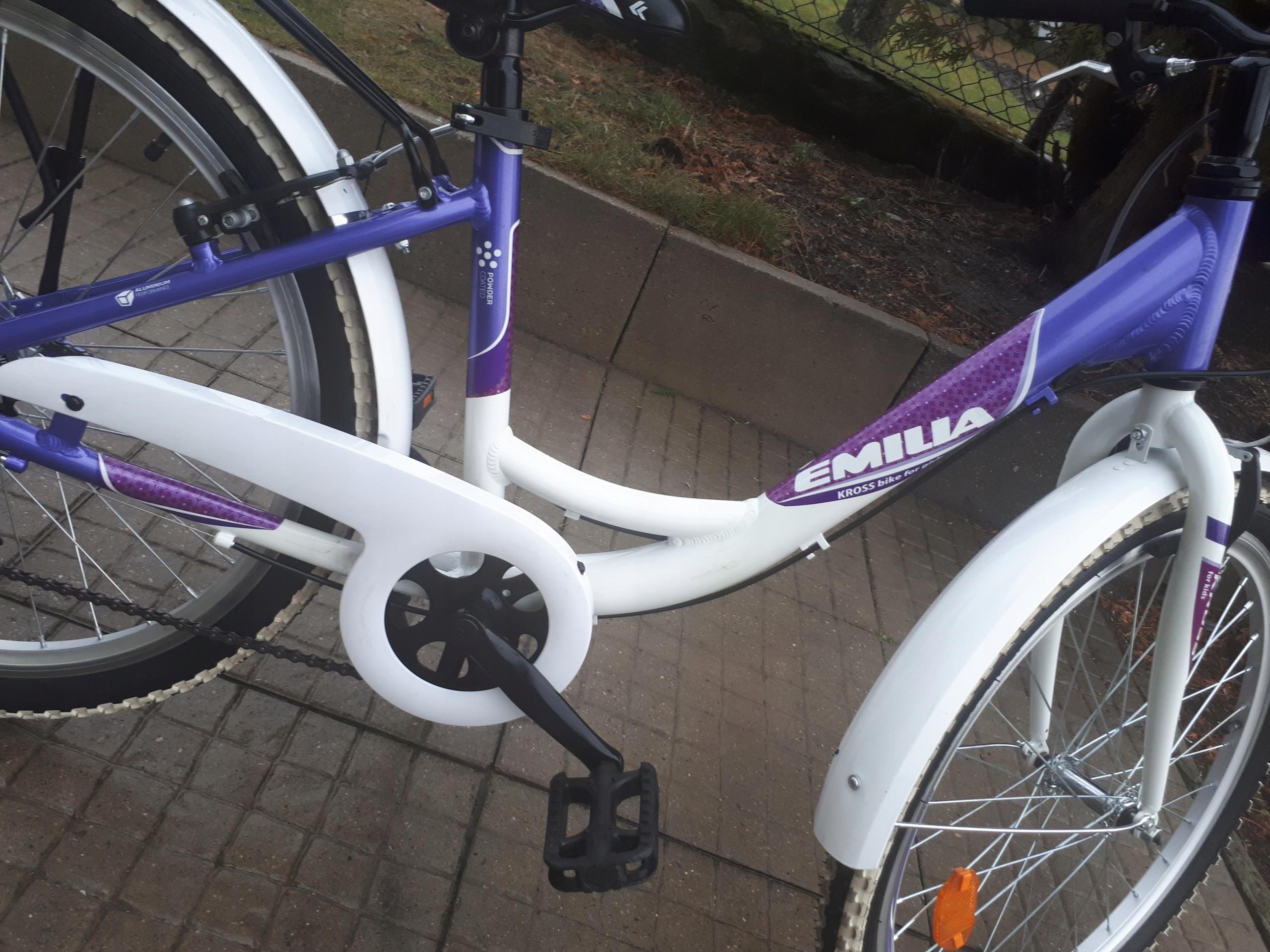 Rower KROSS dla Dziewczynki na kołach 24cali Alu