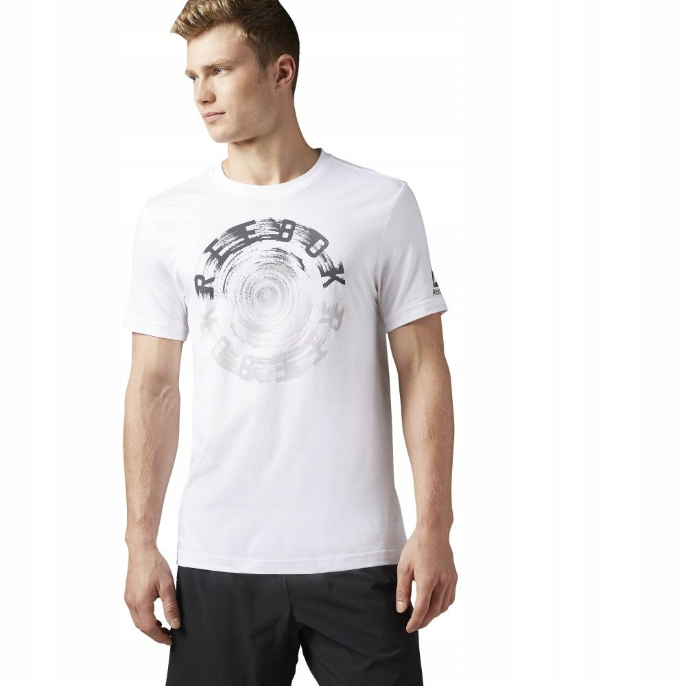Koszulka Reebok Spin Tee BK5223 S biały