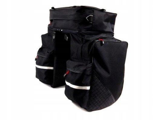 Spencer Maxi Triple Bag sakwa rowerowa 3-komorowa