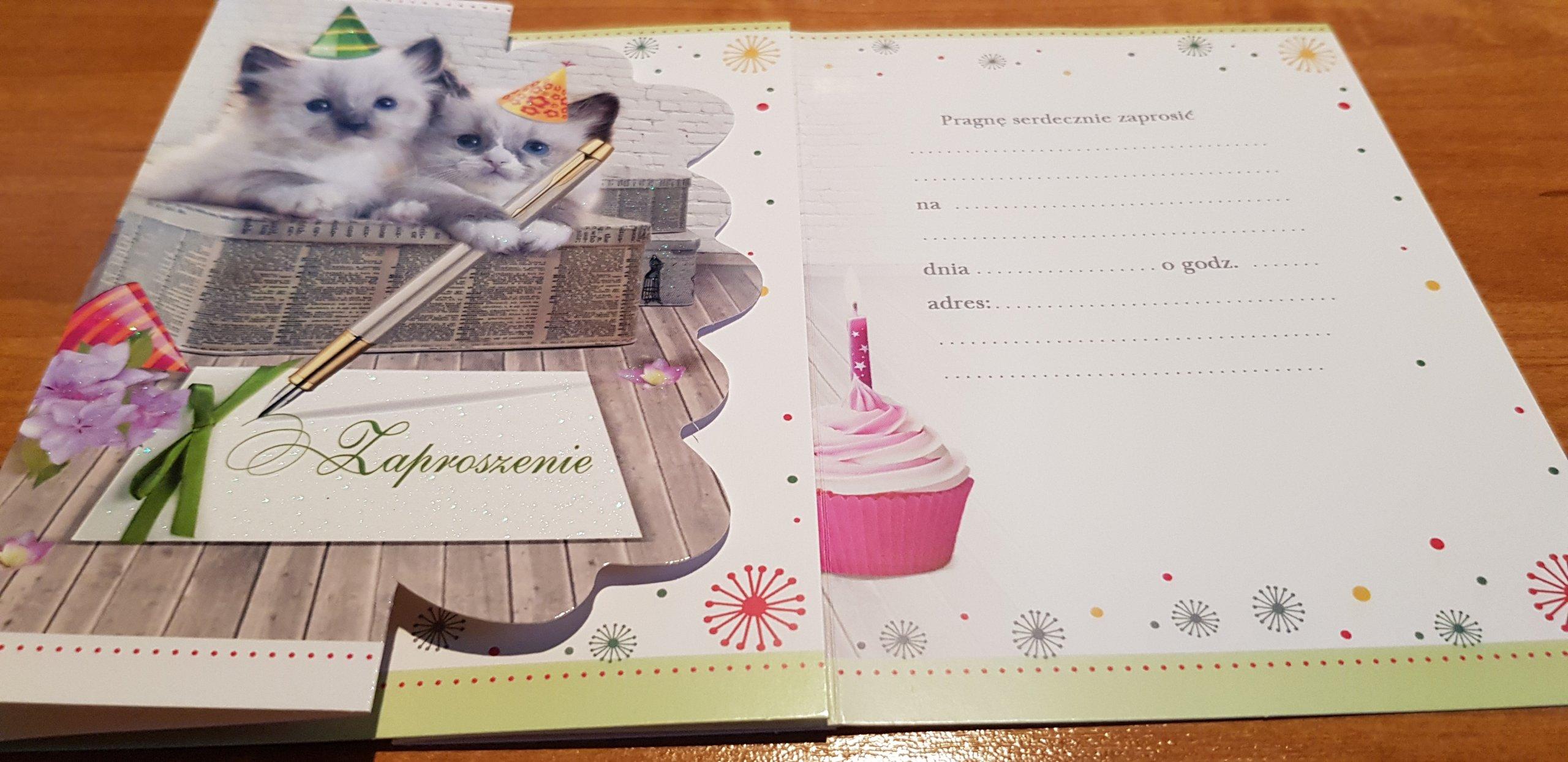 Zaproszenia Na Urodziny Dziecka 7390582283 Oficjalne Archiwum
