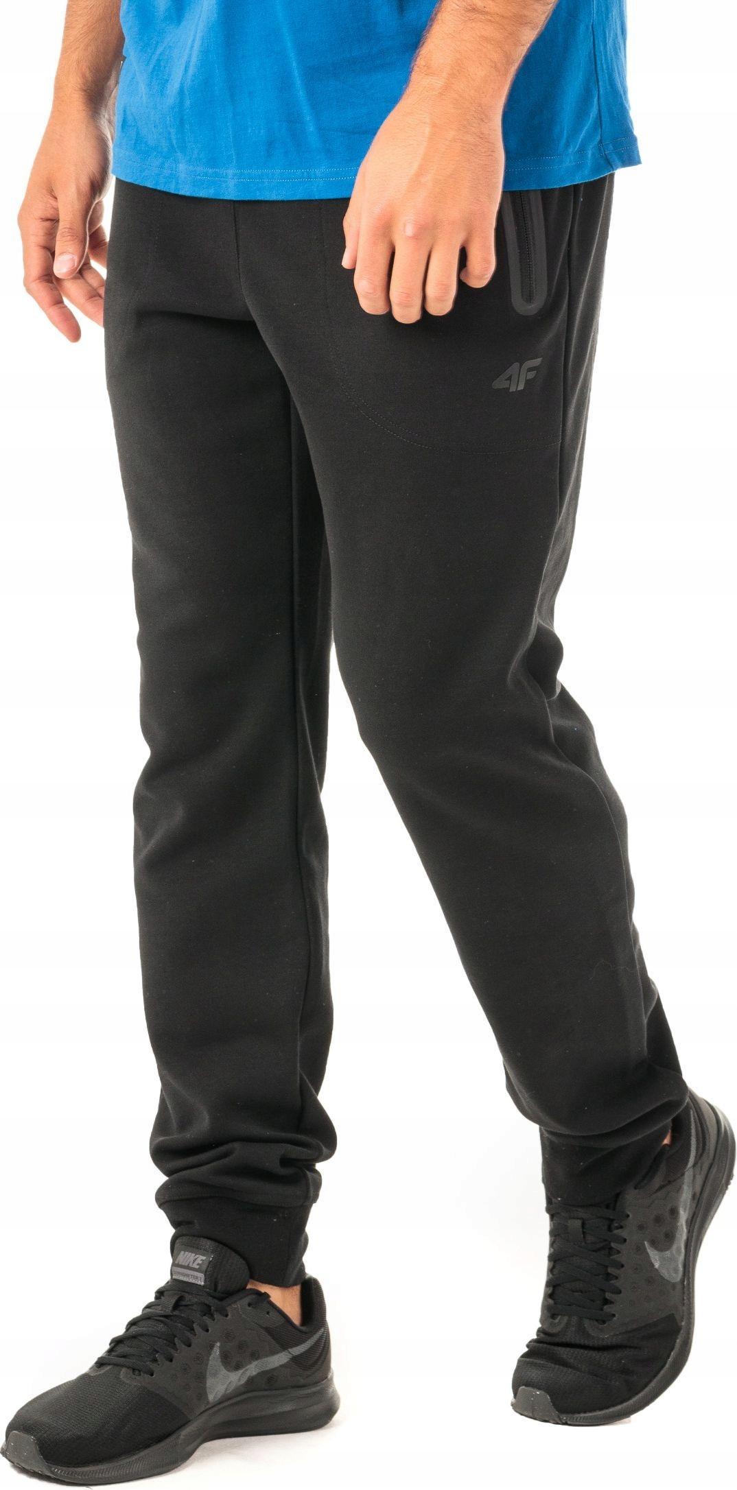 4F Spodnie męskie dresowe H4Z18 SPMD006 r. L