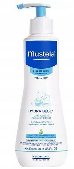 MUSTELA Hydra Bebe mleczko do ciała nawilżaj 300ml