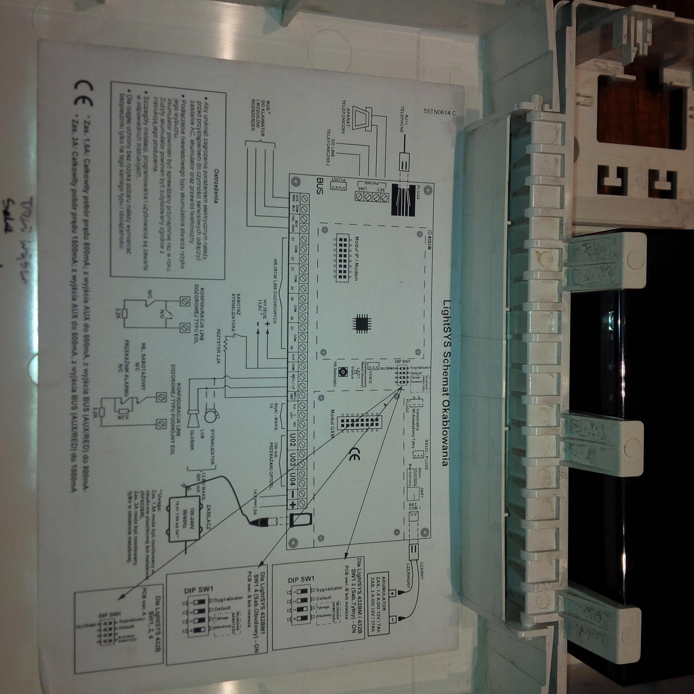 Chłodny System alarmowy GTX ONE firmy Risco - 7732030997 - oficjalne FL05