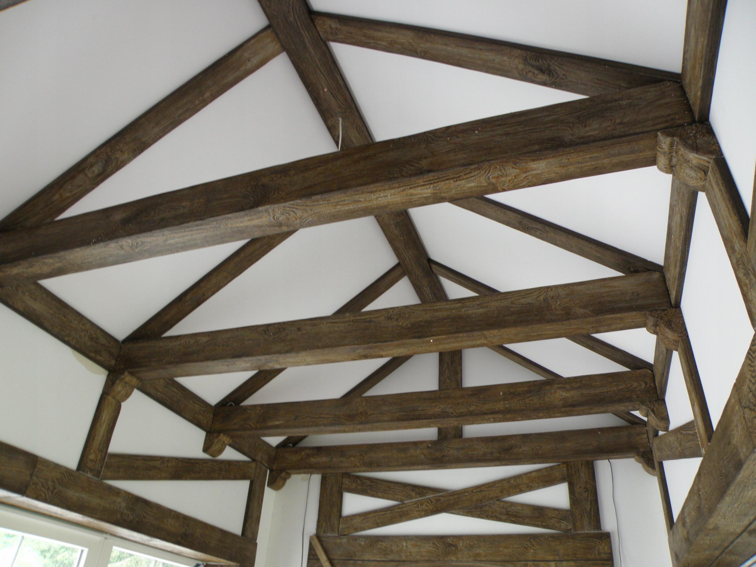 Belki Rustykalne Dekoracyjne Imitacja Drewna 7752140424