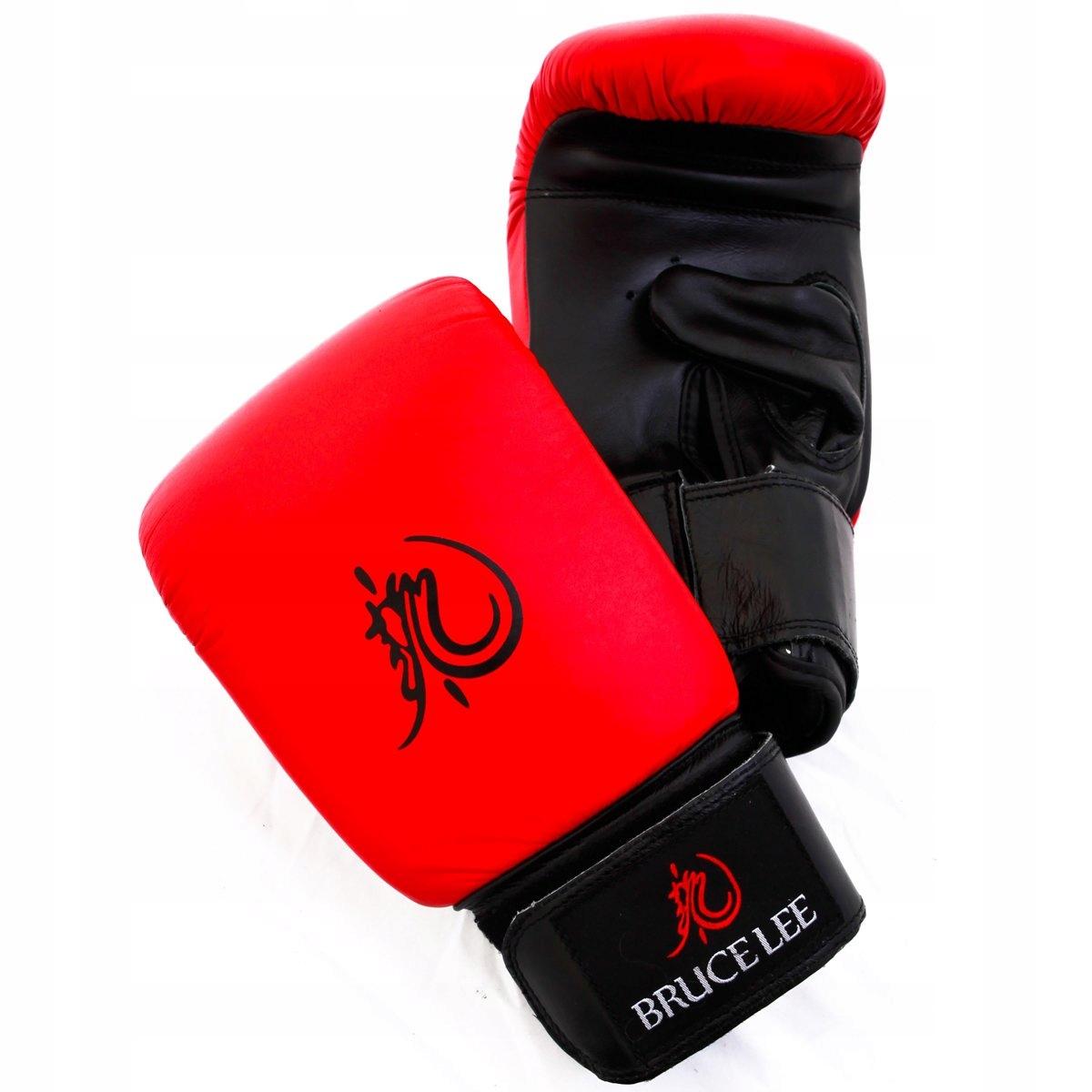 Bruce Lee Dragon Deluxe rękawice bokserskie r. S #