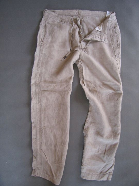 Spodnie męskie lniane NEXT R - 36
