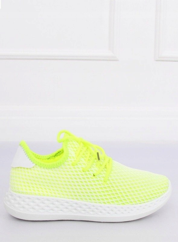 Buty damskie sportowe żółte 7760 Y roz. 37