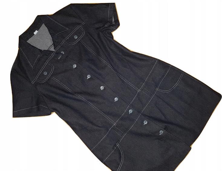 $K_FASHION -jeansowa sukienka - ROZM.44