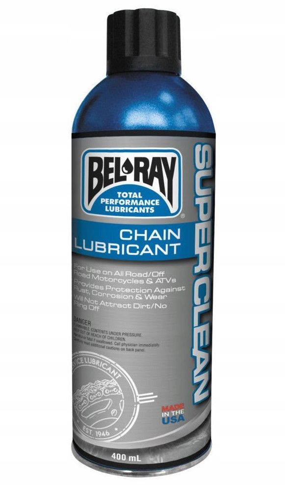 BEL-RAY SUPER CLEAN CHAIN LUBE 400ml smar do łańc