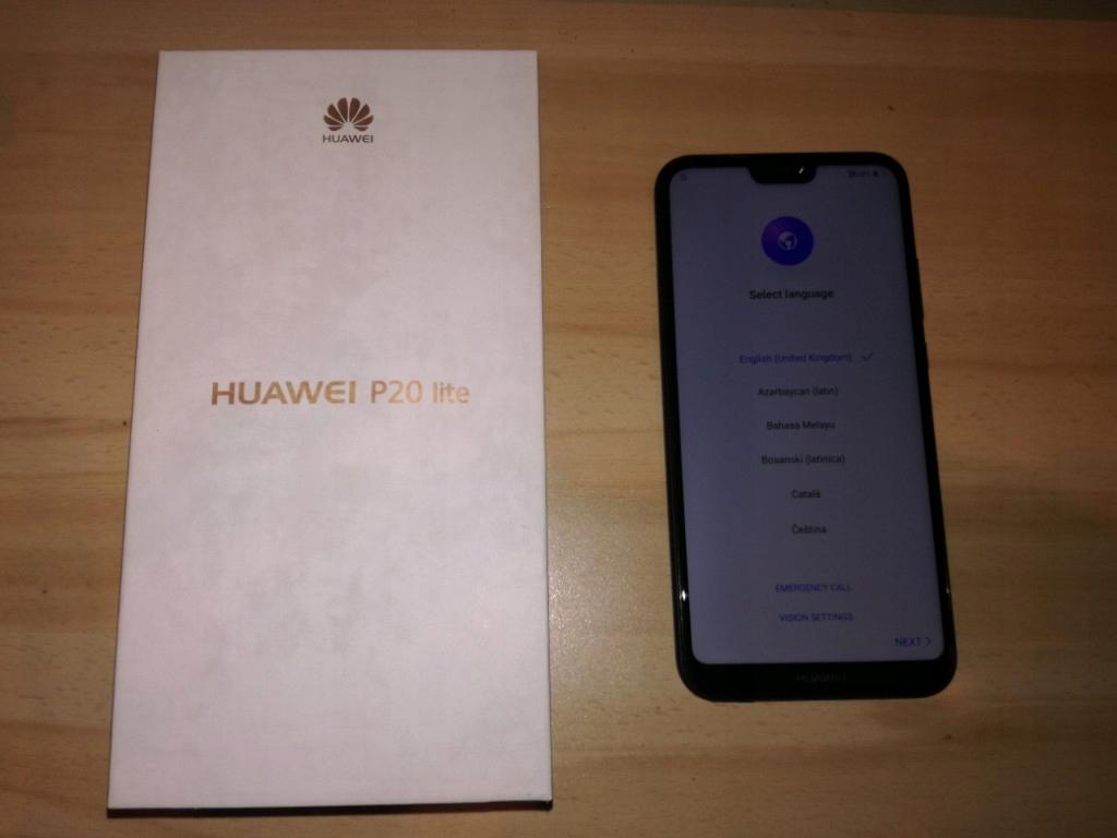 Huawei P20 Lite 64GB nowy etui + szkło gratis