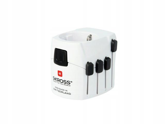 Przejściówka adapter PL USA UK CN CH IT