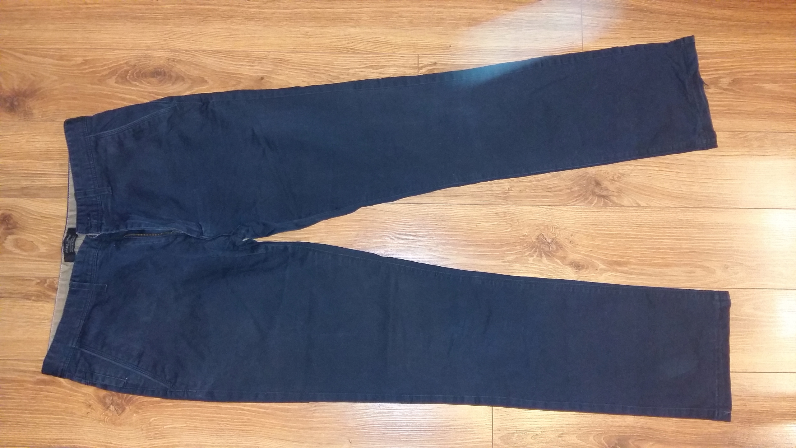 Spodnie ZARA męskie czarne