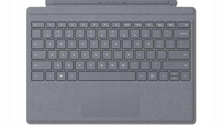 Klawiatura Surface Pro Signature Type Cover Platin
