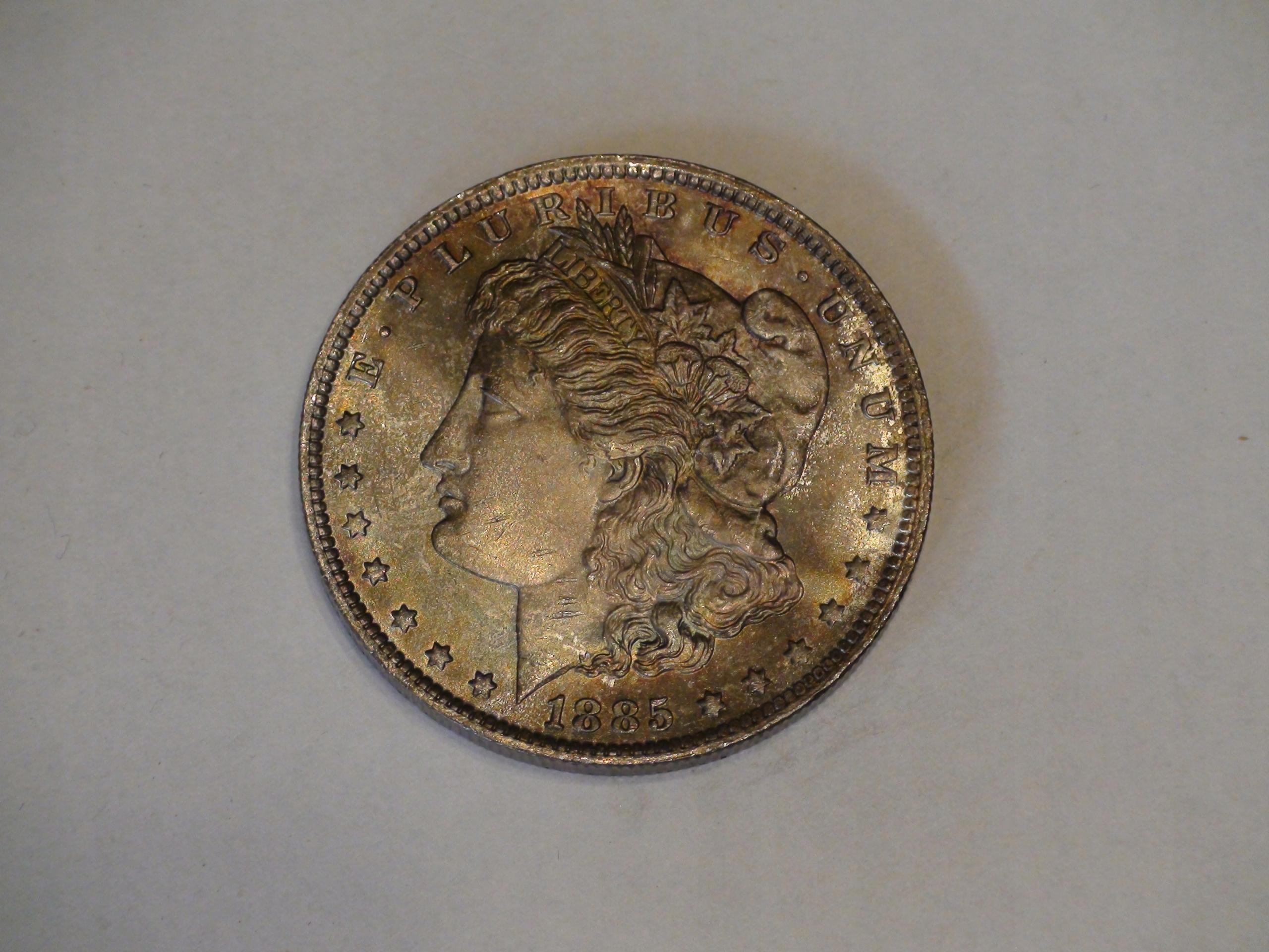 One Dollar Morgan 1885O