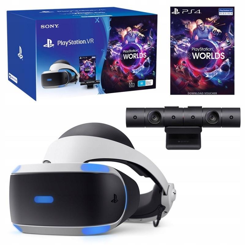 OKULARY VR v2 ZESTAW PLAYSTATION PS4 KAMERA 5 GIER