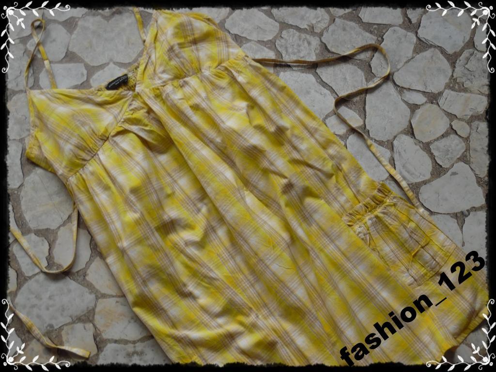 DOROTY PERKINS_sukienka_w kratę 42_*8 L*