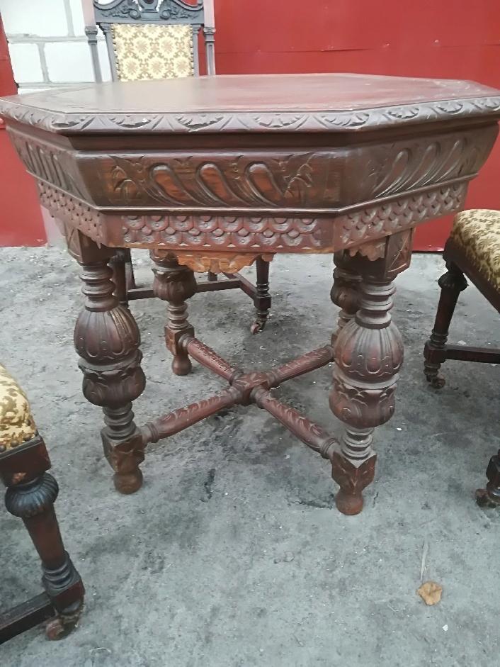 Komplet stół + 3 krzesła