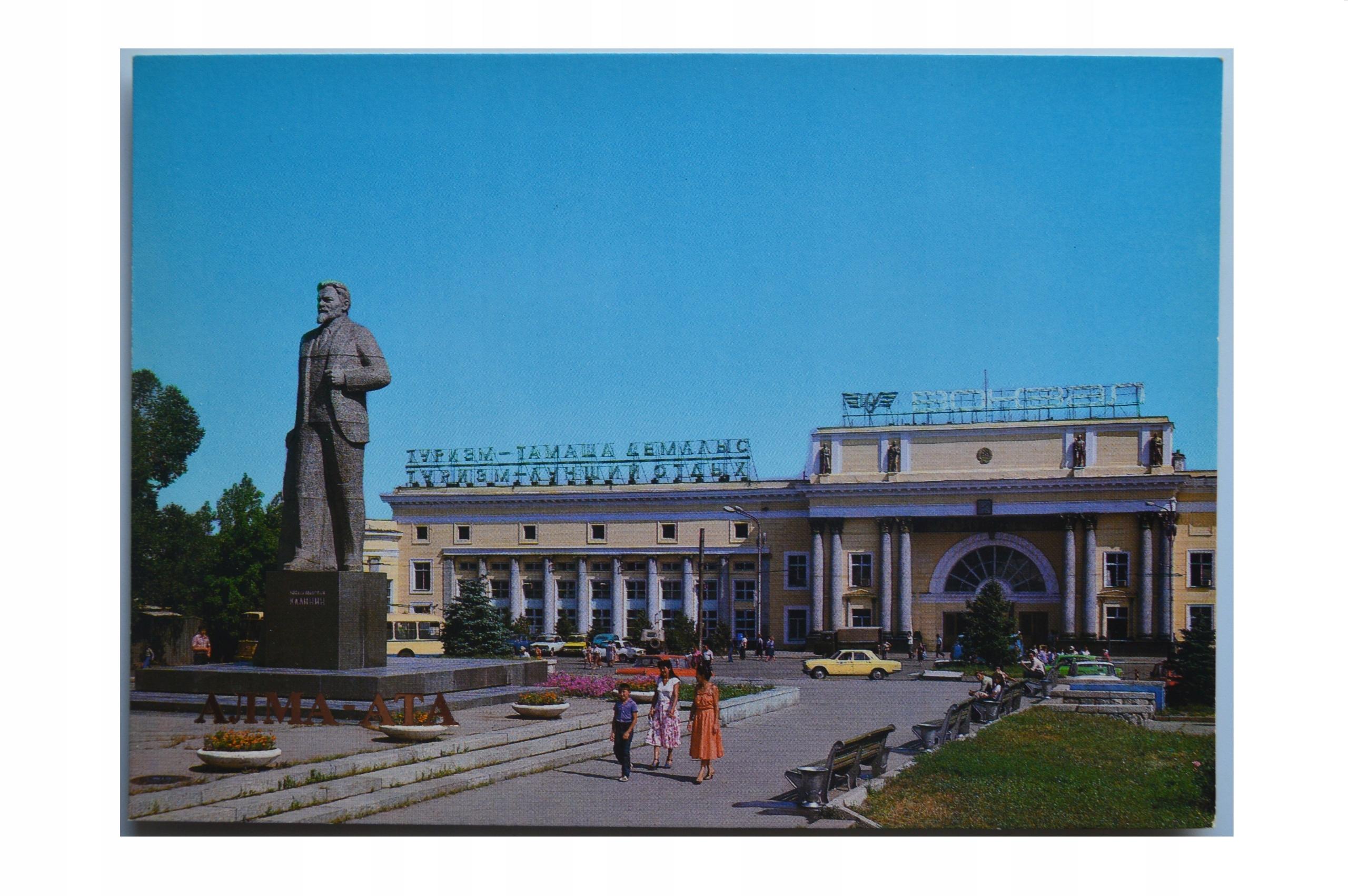 KAZACHSTAN-AŁAMA -ATA-DWORZEC KOLEJOWY