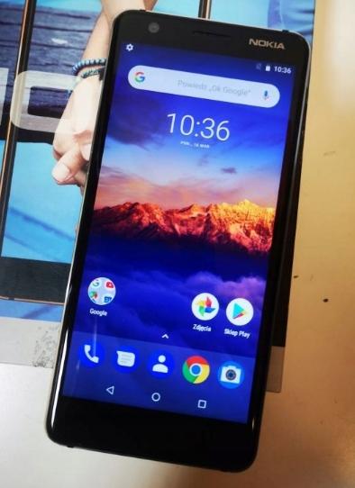 telefon smartfon nokia 3.1