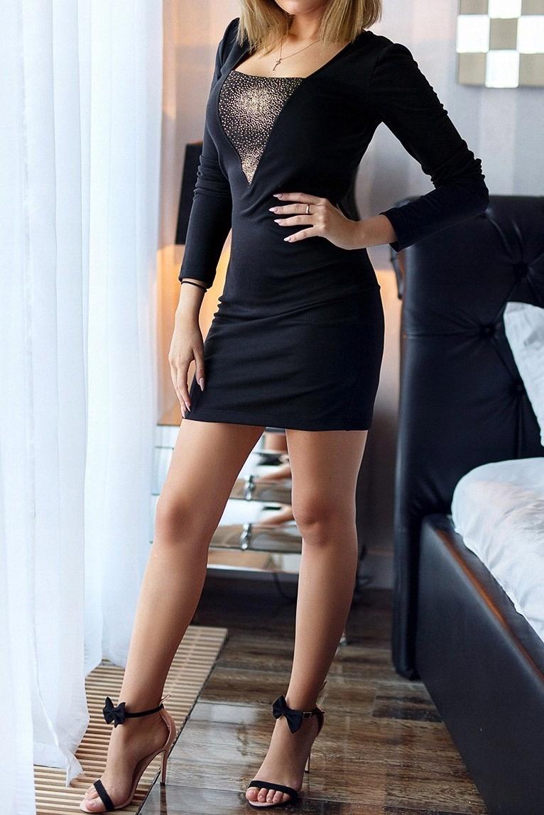 Sukienka XS 34 klasyczna czarna do pracy elegancka