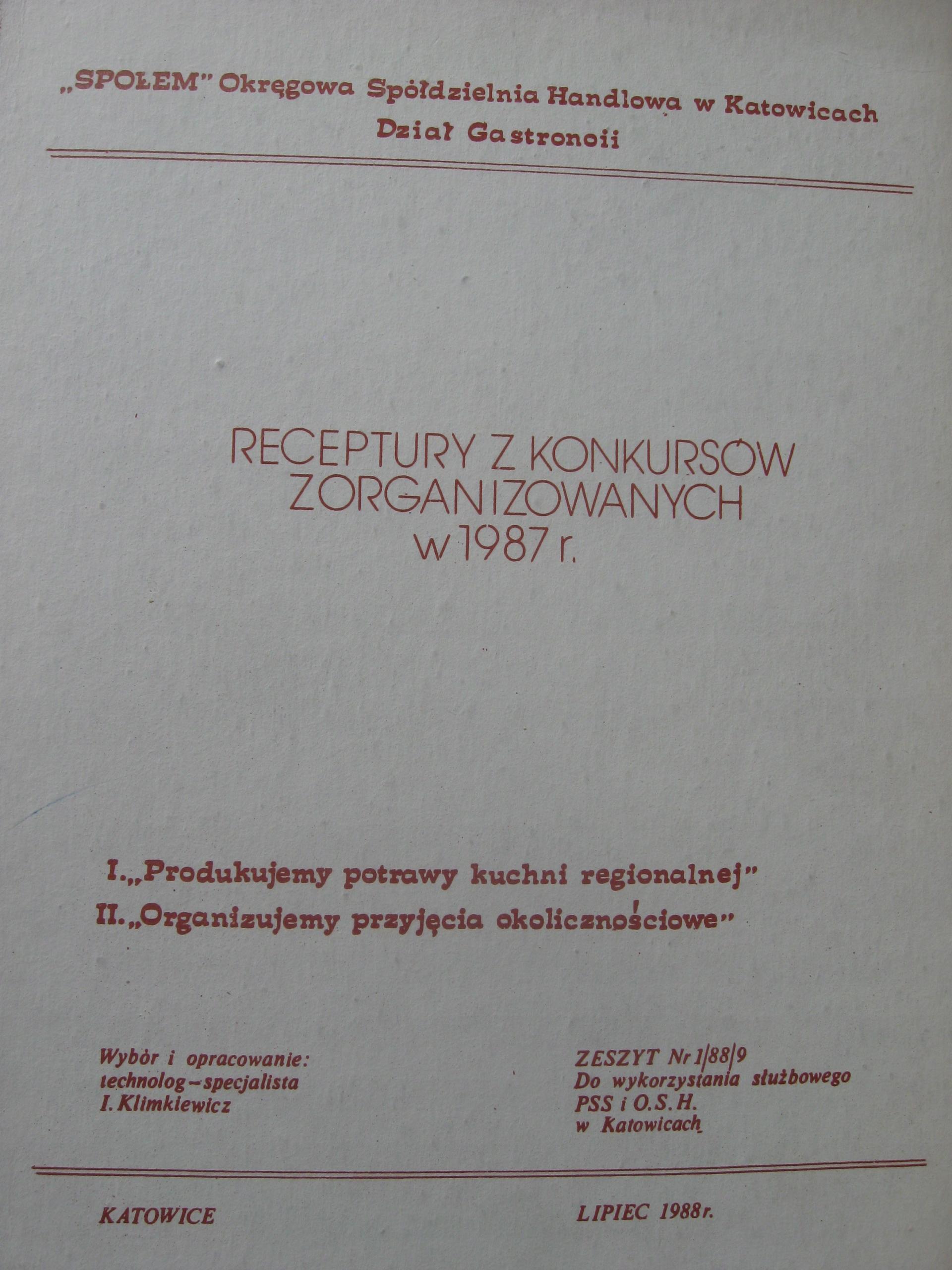 Kuchnia Polska 76 Receptur Kulinarnych Społem 7865955235