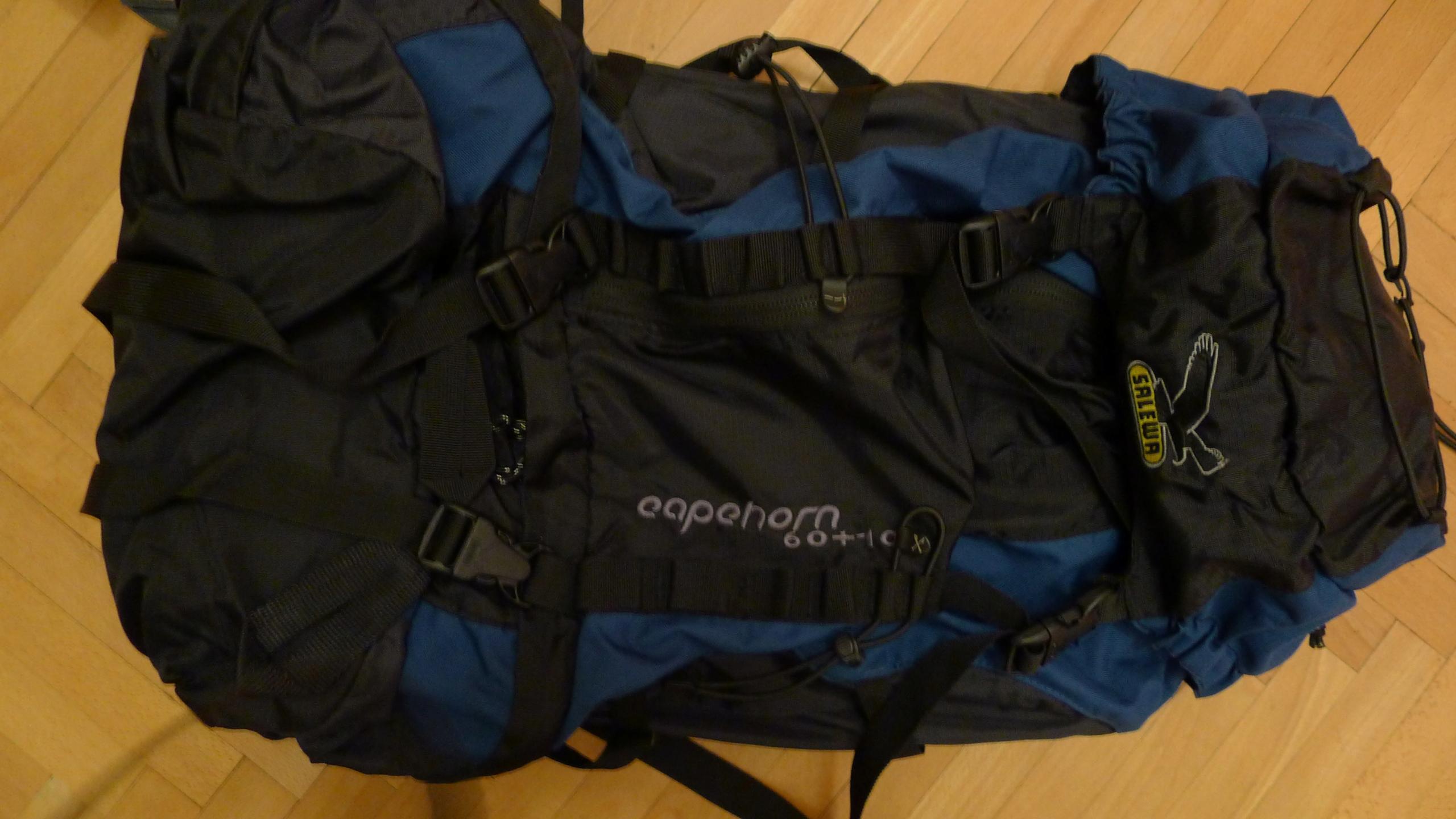 plecak turystyczny Salewa Capehorn 60+10
