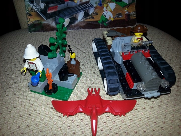 Lego Adventures 5934 Dino Island - 2000 r.