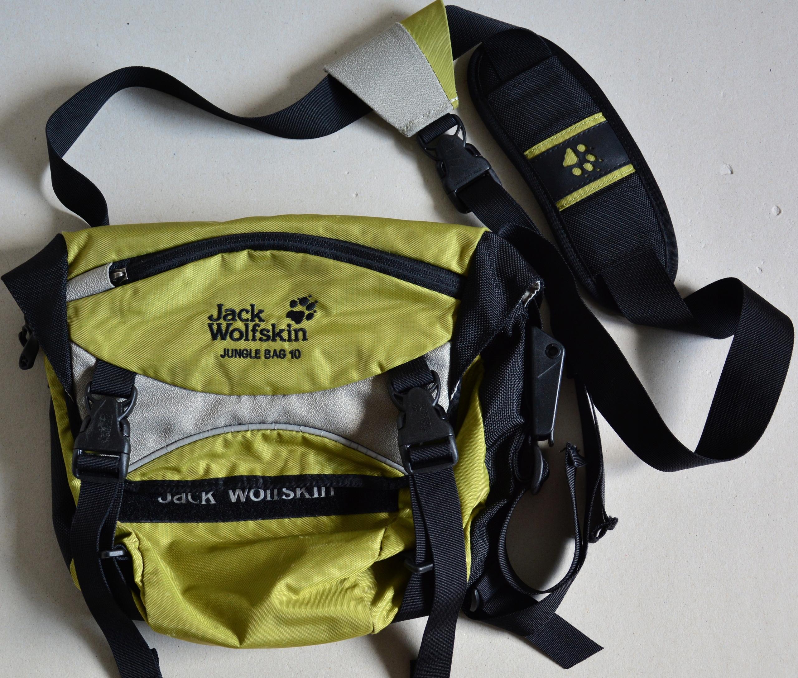 Torba JACK WOLFSKIN JUNGLE BAG 10