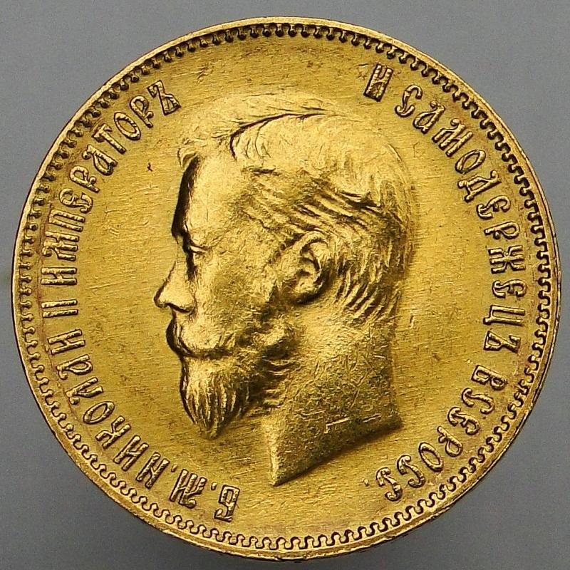 1903 AP Rosja Mikołaj II - 10 rubli