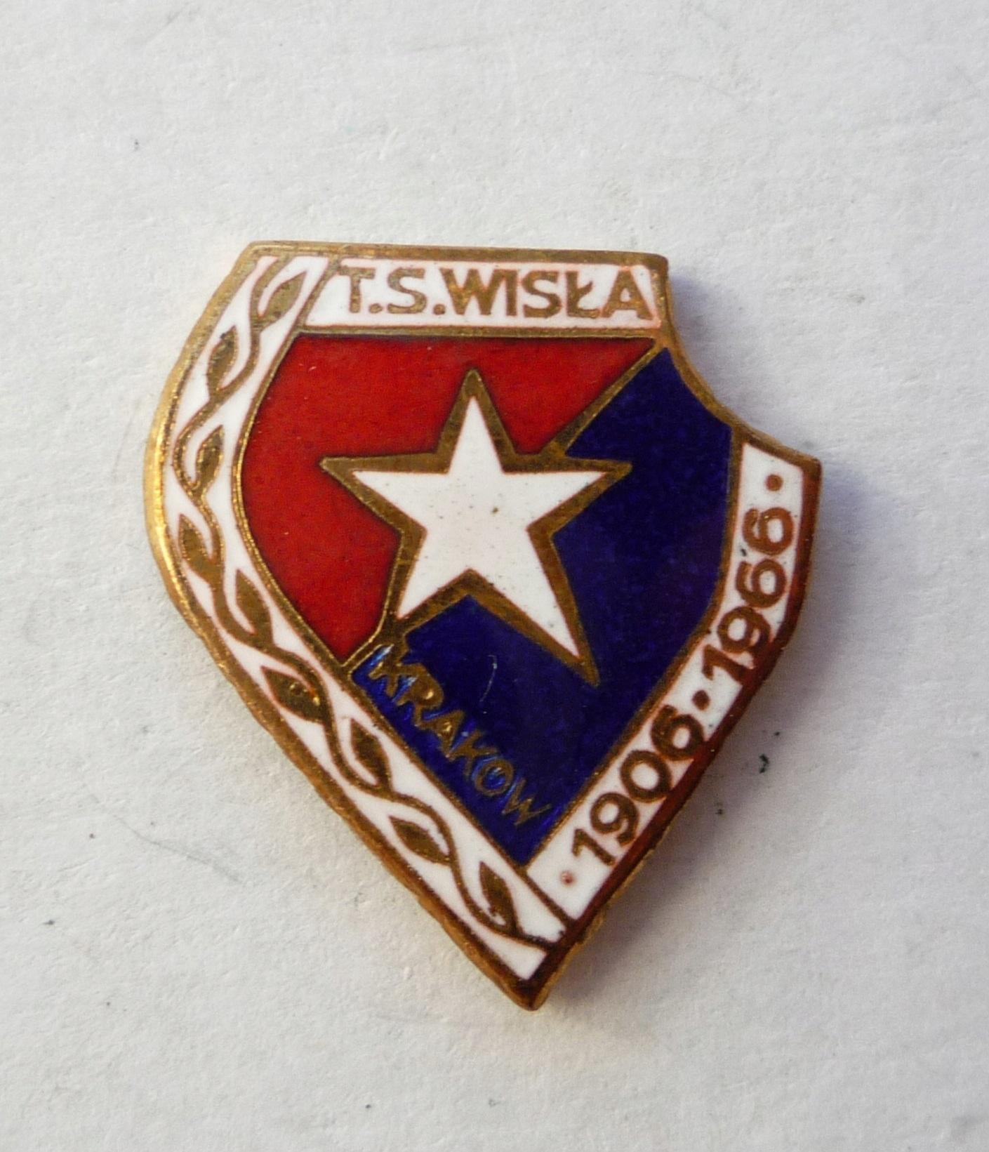 WISŁA KRAKÓW TS - 60 lat - ŚRUBA