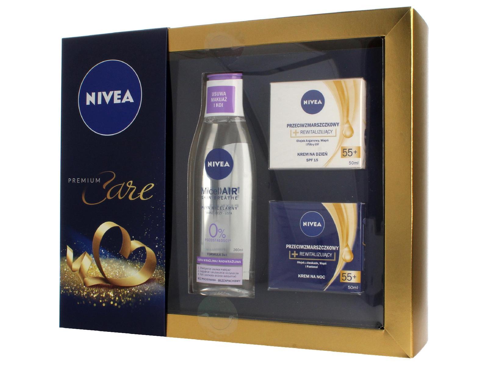 Nivea Zestaw prezentowy Premium rewital.n/noc50ml)
