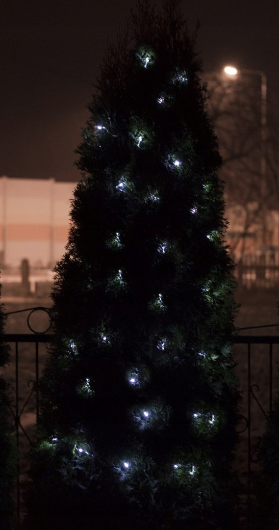 Lampki Choinkowe LED ZEW/WEW 100LED 10M zimny biał