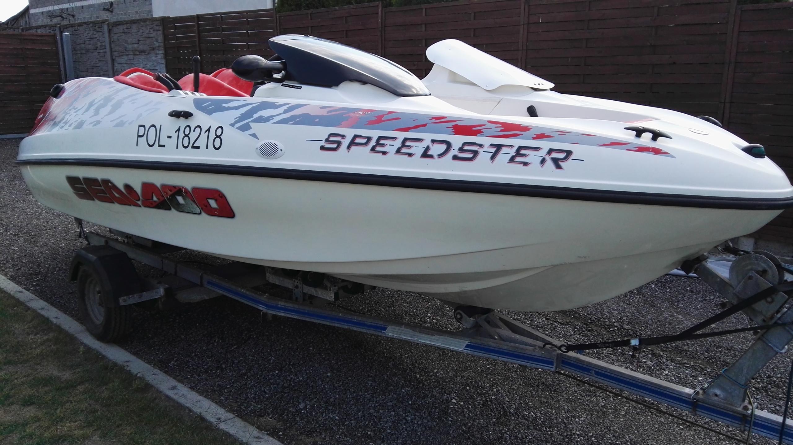 ŁÓDŹ MOTOROWA SEA DOO SPEEDSTER 2X120 KM 1998R.