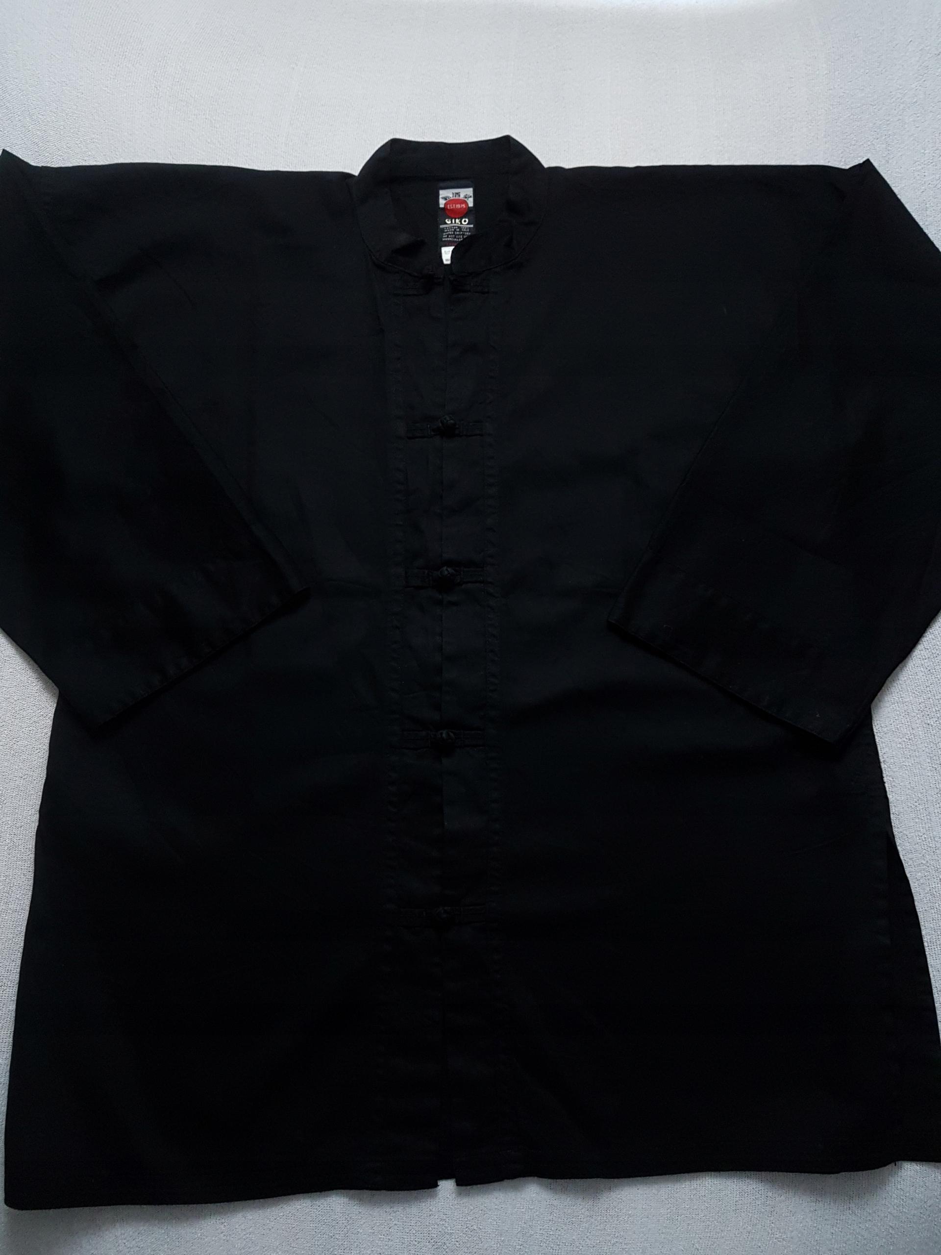 Bluza kimono czarna GIKO Kung Fu 170-180 cm