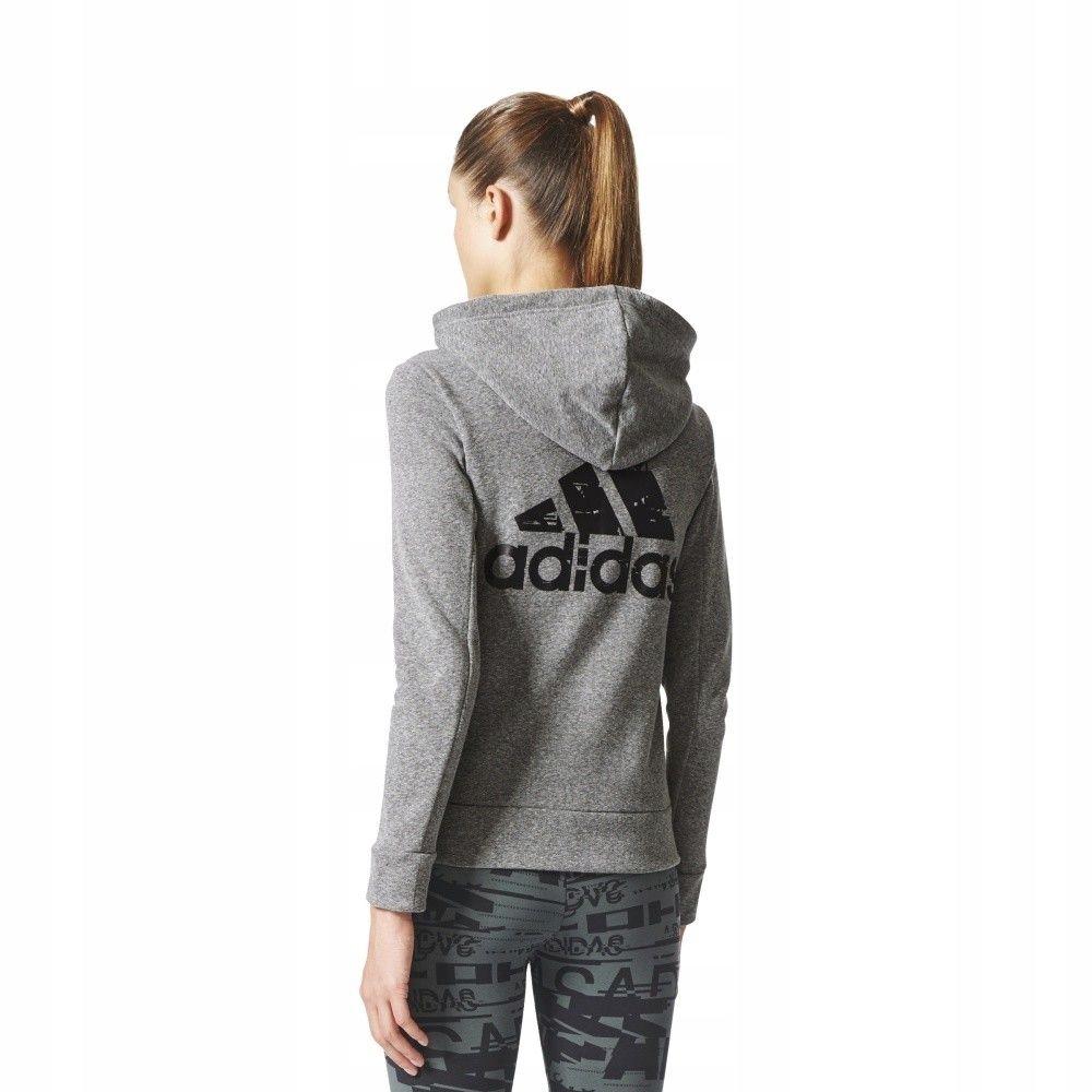 Bluza adidas SP ID FZ Hoodie CE7612 - SZARY; S