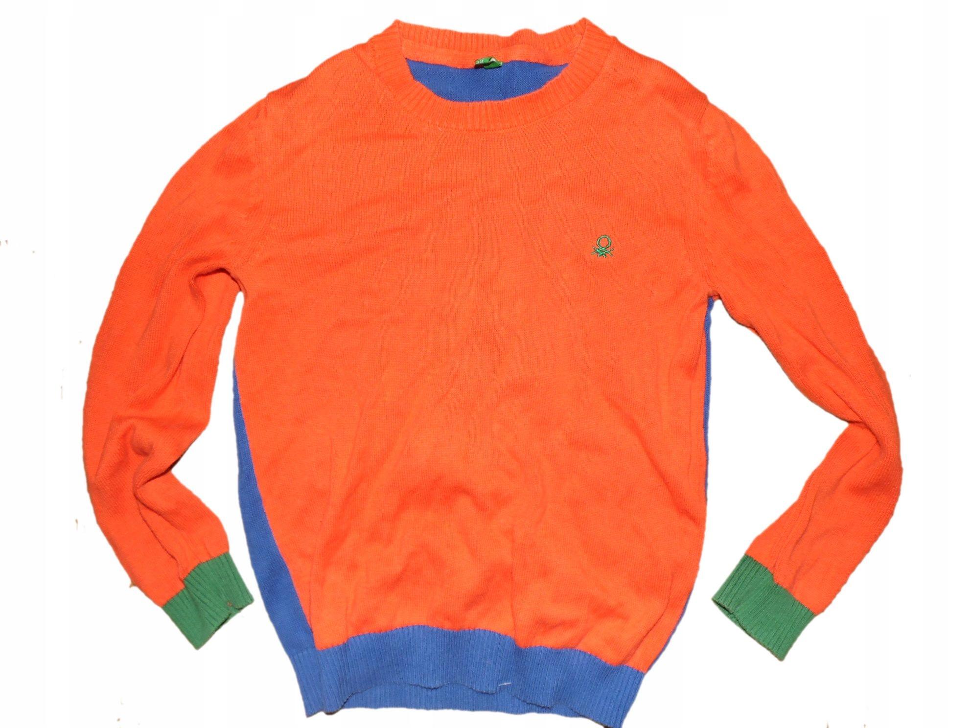 sweter z dzianiny 122 stan bdb