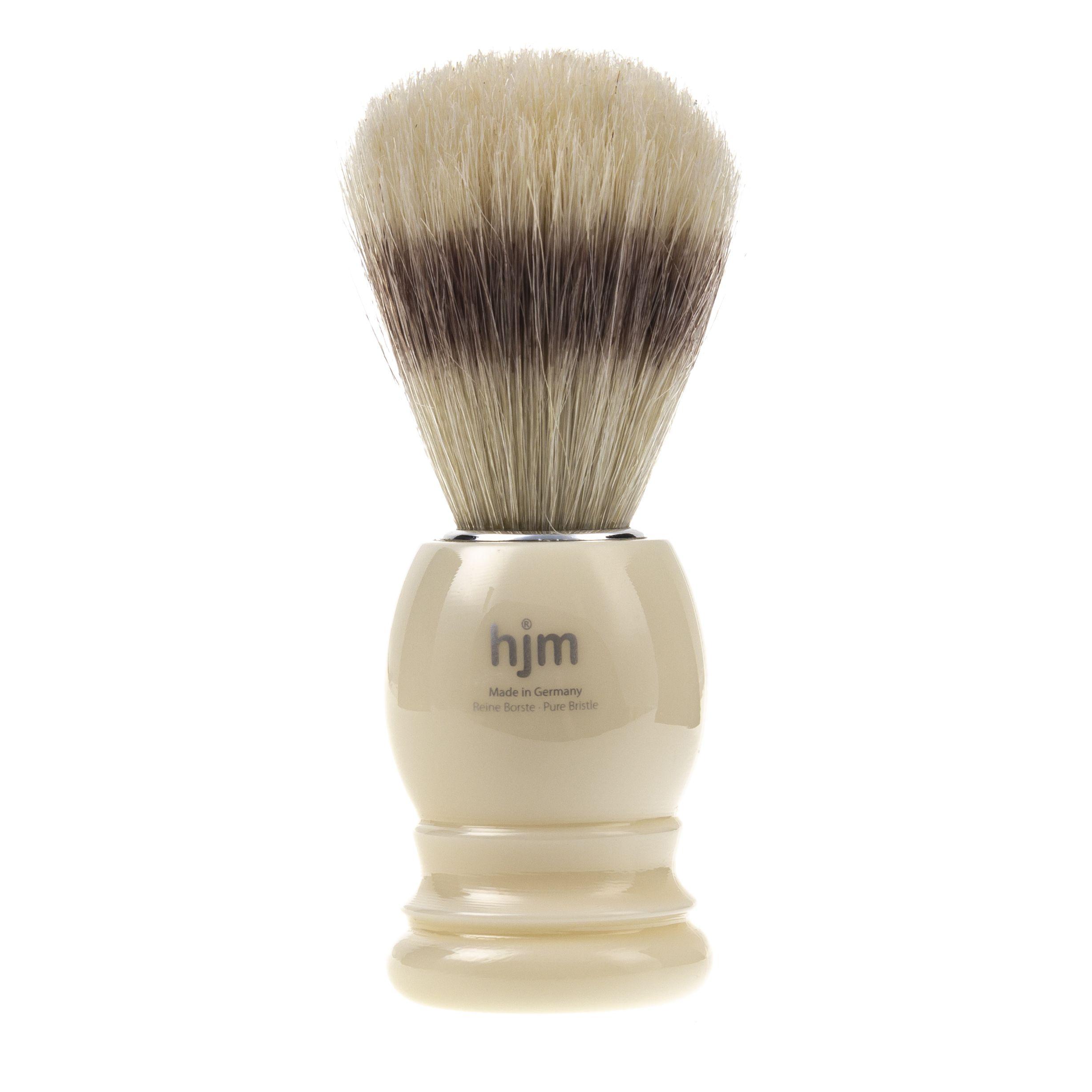Pędzel do golenia brody - tradycyjny - Muhle biały
