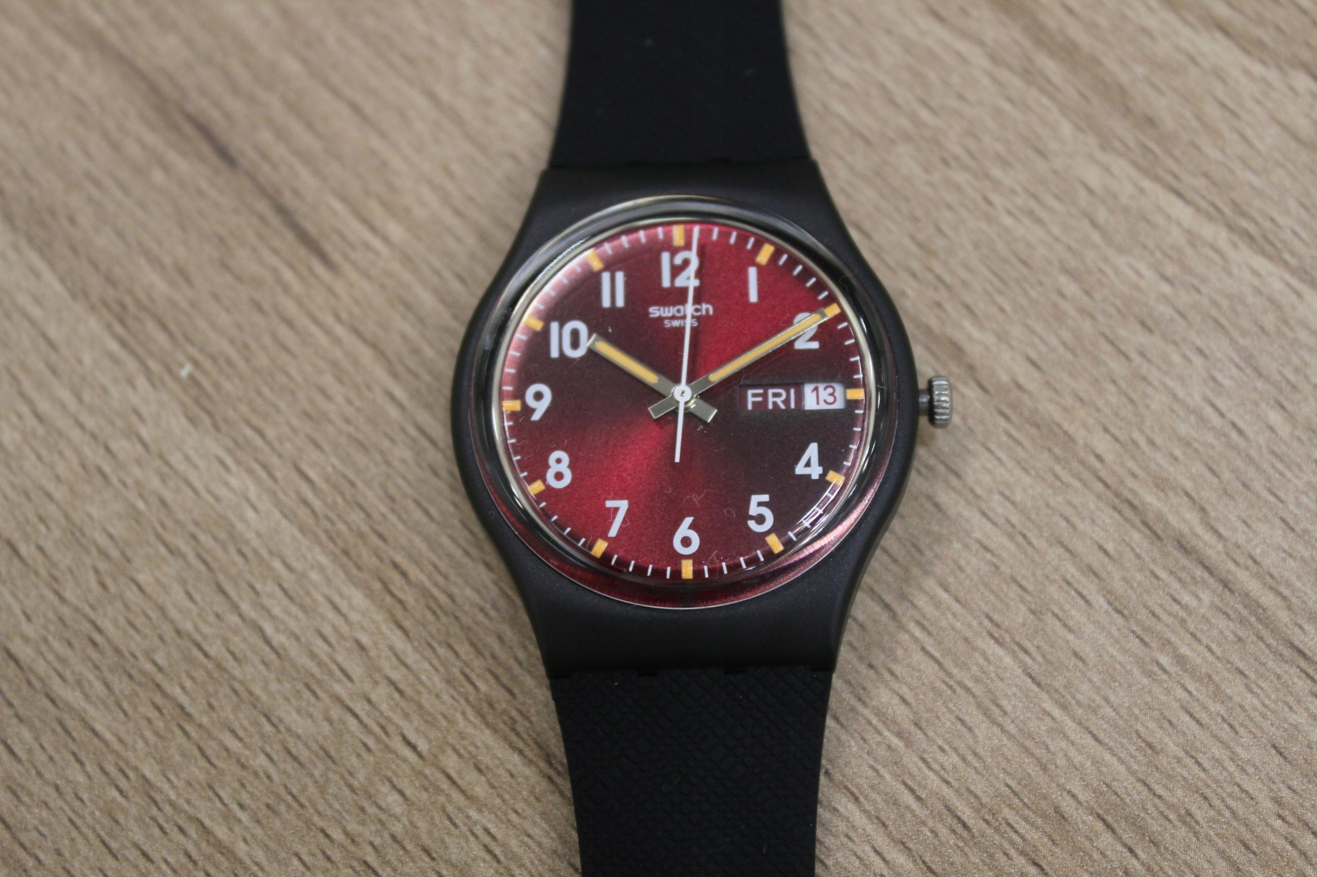 Zegarek Swatch GB 753 Lombard4u M1
