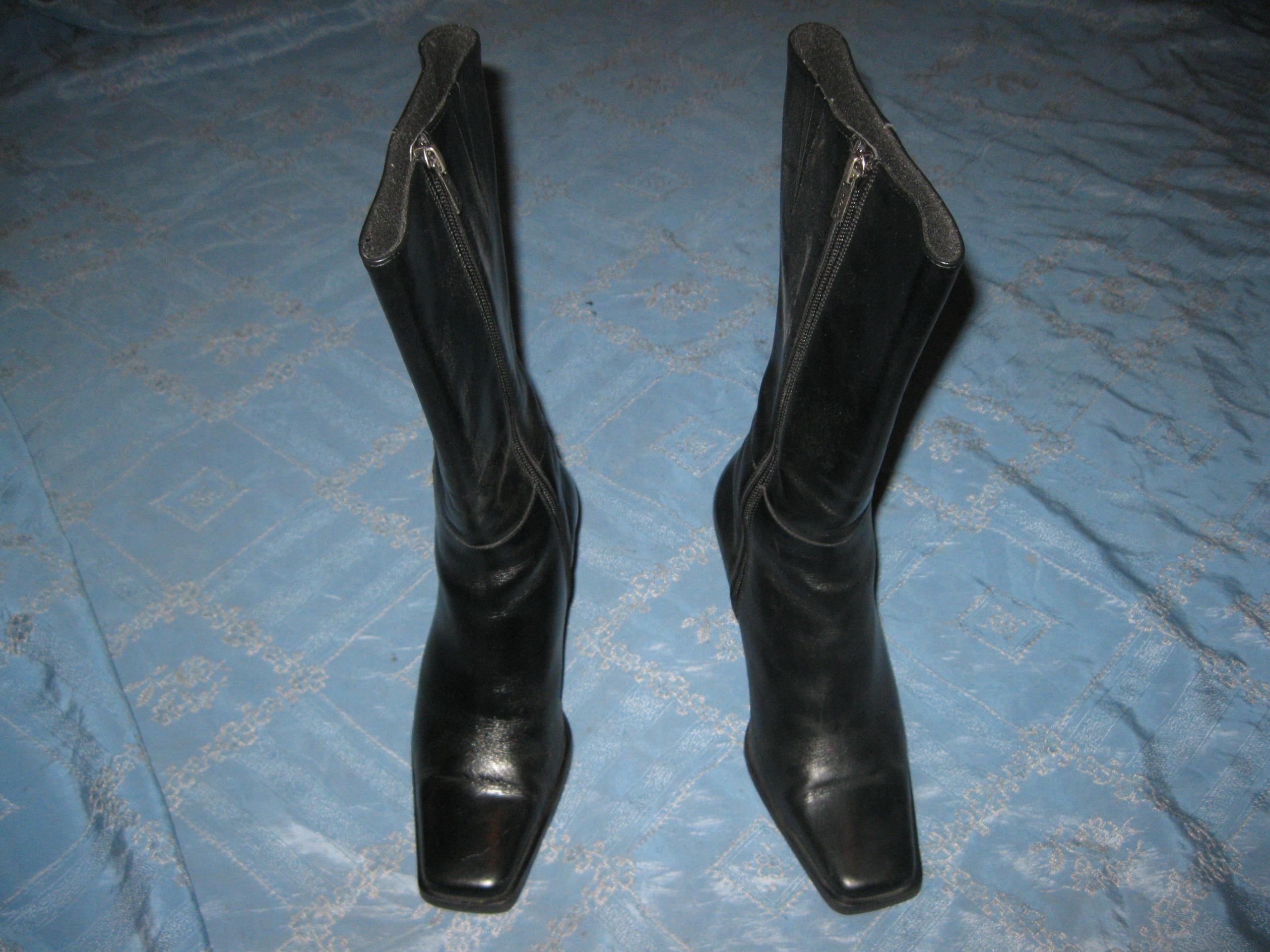 Buty kozaczki RYŁKO rozmiar 36 skóra