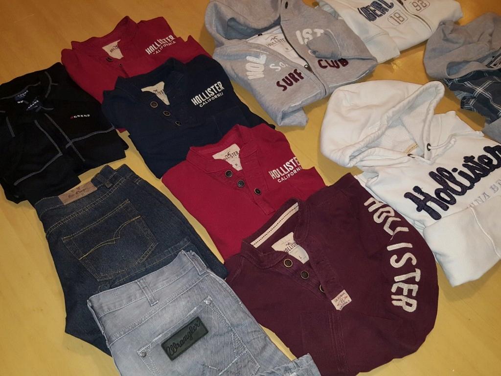 paka ubrań