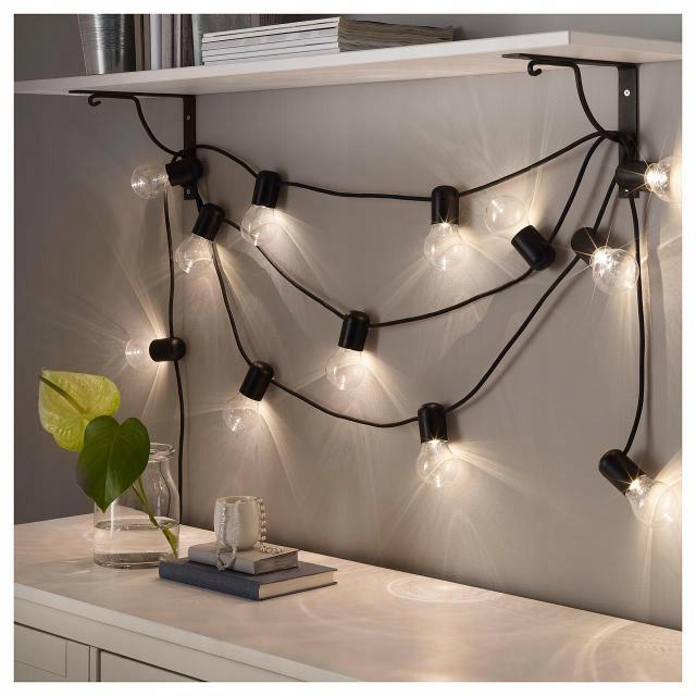 Ikea Svartra Oświetlenie Zewnętrzne Led 12 święta