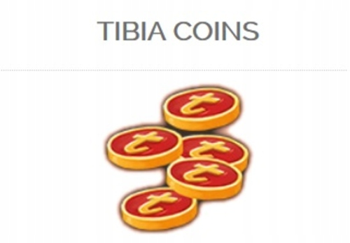 Tibia Coins 325 DOWOLNY SERWER PACC!!