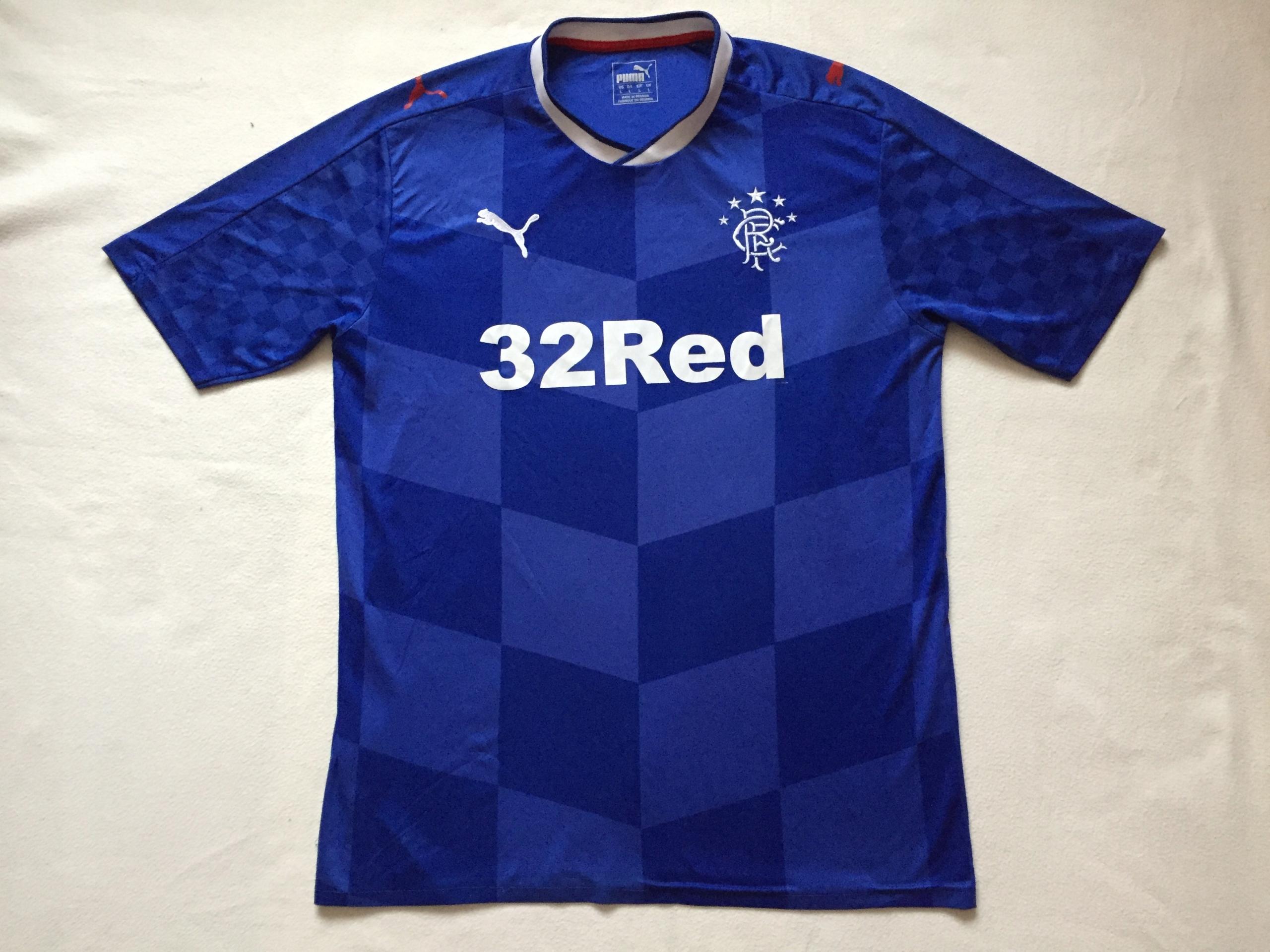 Koszulka Glasgow Rangers - sezon 2016/2018