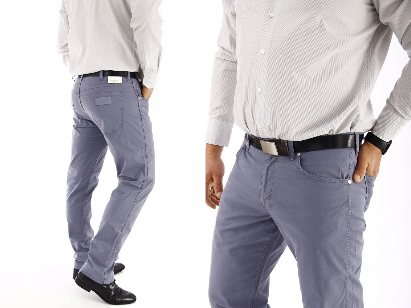 Wrangler Greensboro Flinston Blue spodnie W36 L30