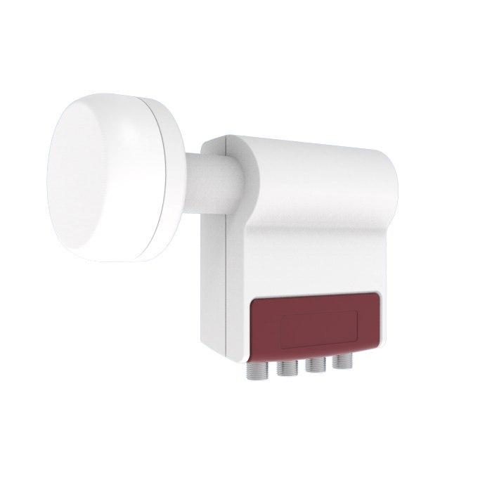 KONWERTER SATELITARNY Inverto Quattro Red Extend