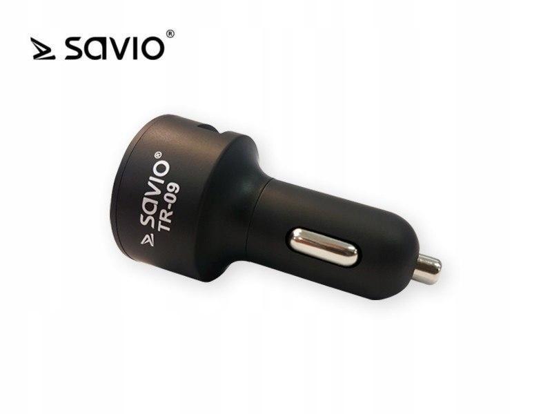 Transmiter FM SAVIO TR-09 z bluetooth, funkcja zes
