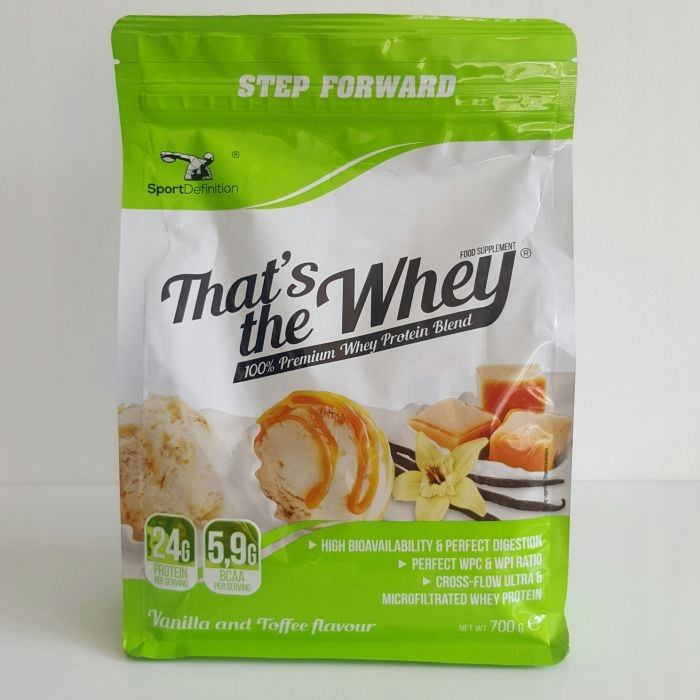 Odżywka Białkowa Thats The Whey 700g vanilia-toffi