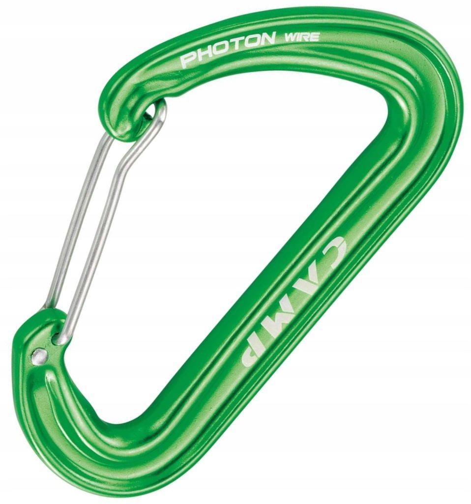 Karabinek CAMP Photon Wire Lekki Green Zielony