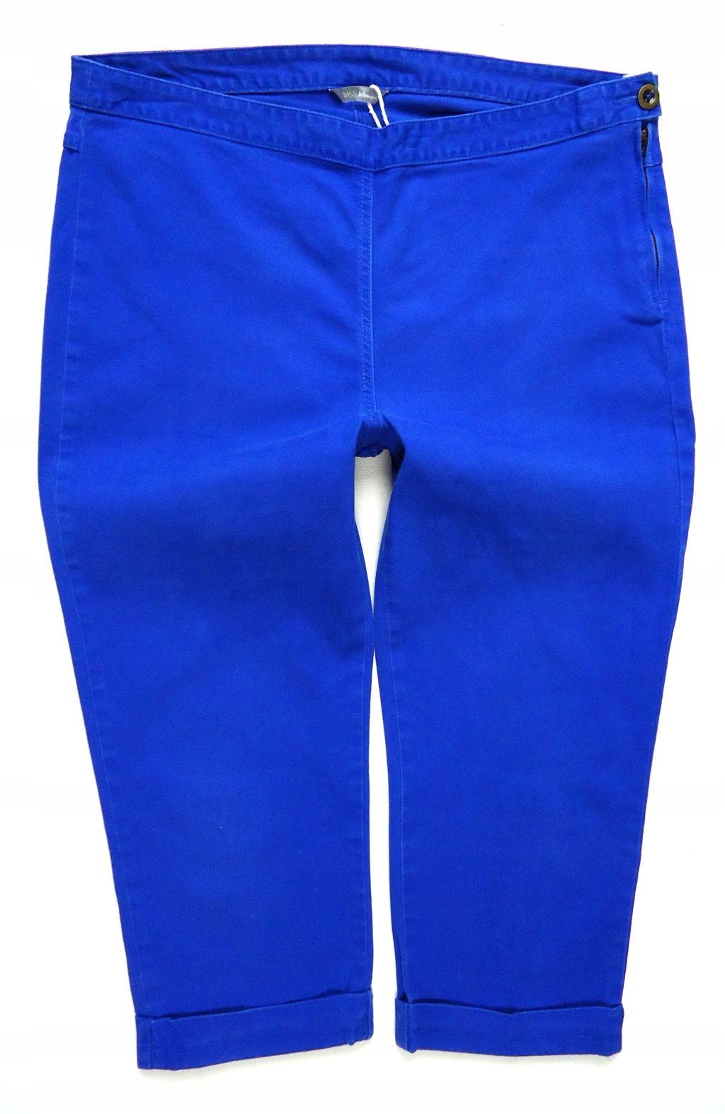 2339 M&S jeansy rurki rybaczki 44/46