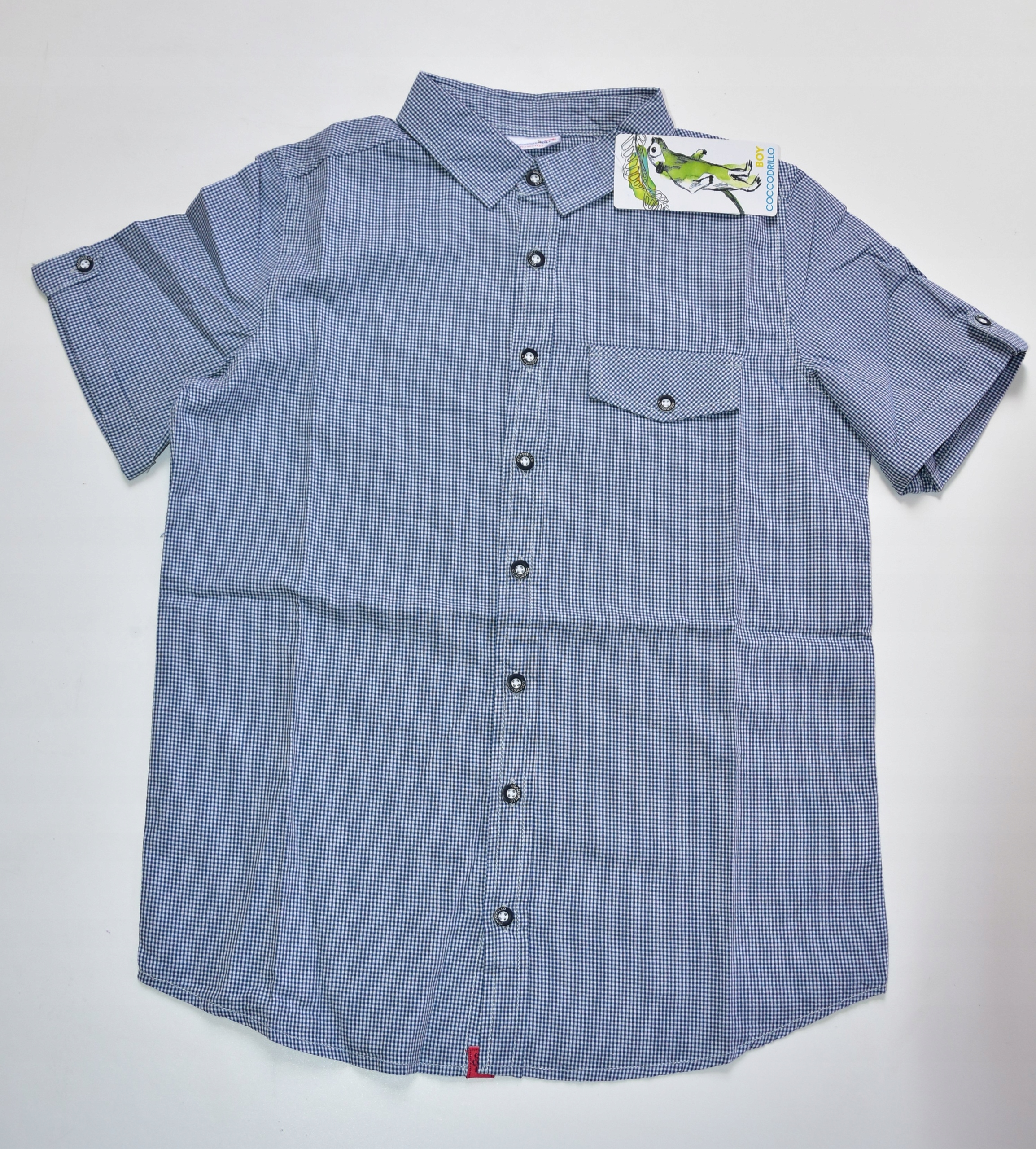 koszula w kratę coccodrillo 152